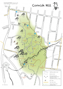 Map of Cornish Hill Daylesford